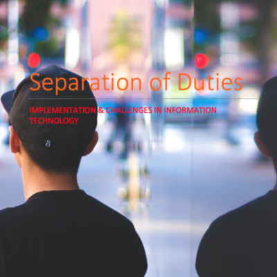 Separation of Duties eBook